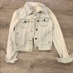 Forever 21 Jean jacket small repair on left sleeve